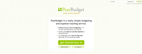PearBudget Screenshot