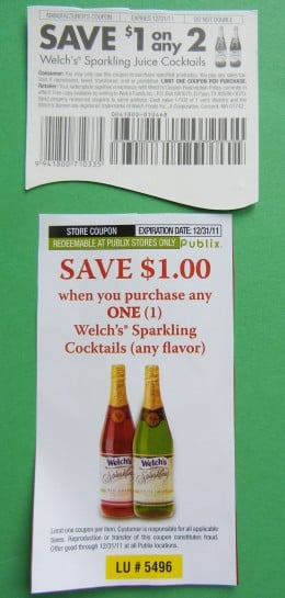 Some stores allow you to use a store coupon and a manufacturer's coupon together