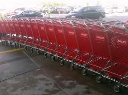 Target Shopping Carts on Black Friday