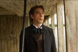 Florentino Ariza played by Javier Bardem in the 2007 film adaption.