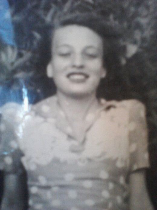This was Mom when she was very young.