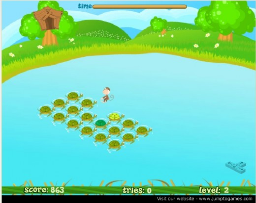 Level 2: Turtles as Trampoline