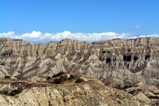 North Caucasus mountains in Dagestan