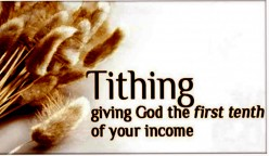 TITHES  AND  CHARITY   To  Tithe  or  Not  to  Tithe