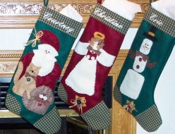 How To Make HomeMade Customized Christmas Stockings