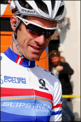 David Millar looking cool in a pair of Giro performance eyewear
