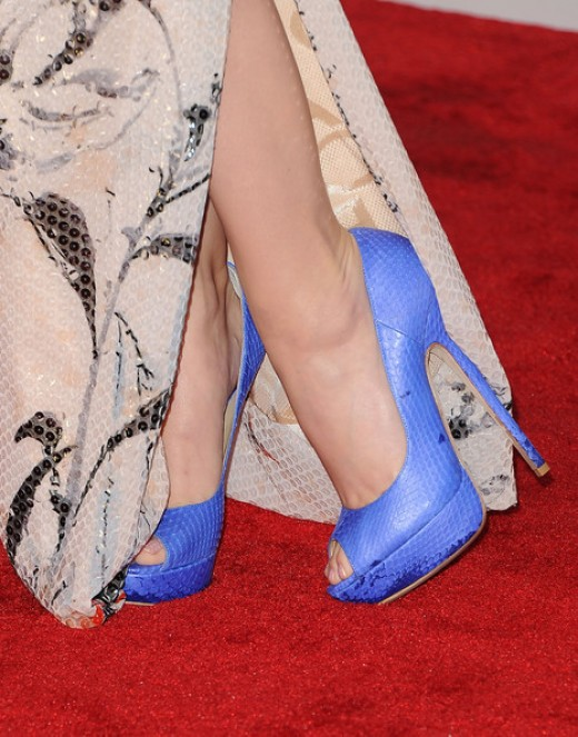 THOSE shoes worn by Katy Perry