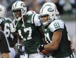 Jets Take Flight - Dustin Keller and Plaxico Buress