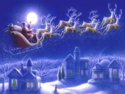 Sweet Dreams of Santa Arriving