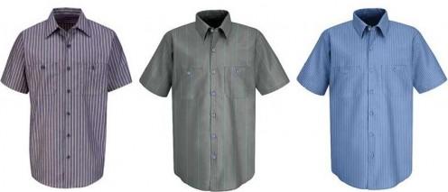 Short-sleeve Red Kap Work Shirts