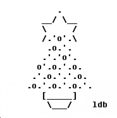 Simple One Line Ascii Art : Christmas crafts party ideas history and recipes page