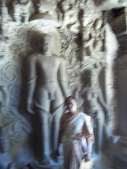 Lord Gometeshwara statue.cave 31,Ellora