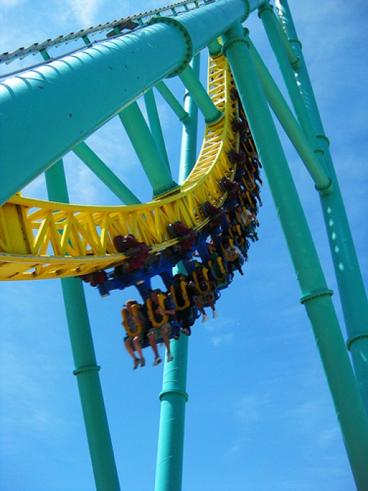 Settle down and buckle up. Hold on as you glide on through the roller coaster of life.
