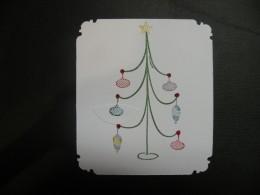 Ornament stamps multicolored