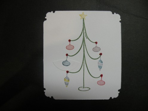 Ornament stamps multicolored