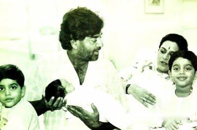 Childhood photo of Sonakshi sinha