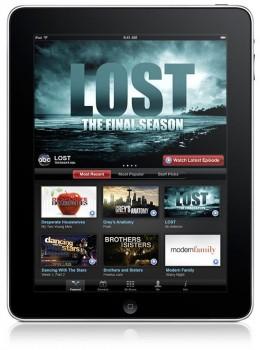 Hulu on iPad 2