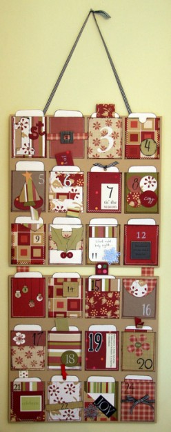 Creating Your Own Advent Calendar Fun for Kids: Tutorials, Visuals and Activities.
