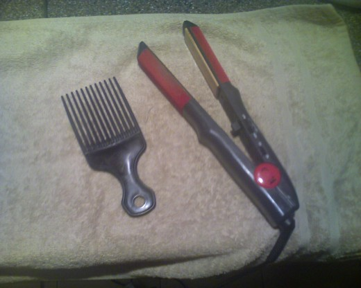 Have a good flat iron and a pick ready.