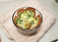 Single-Serving Spinach Quiche
