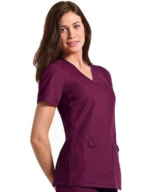 Cherokee Pro-Flexibles Women Two Pocket V-Neck Nurse Scrub Top