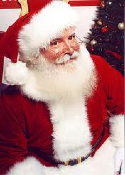 WHO COULD CAUSE SANTA SO MUCH TROUBLE BUT THE FEDERAL GOVERNMENT. UP TO NOW, THEY HAVEN'T ISSUED ANY REGULATIONS ON HIS JOB. YET.