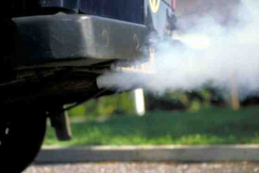 Exhaust fumes can cause allergies when toxins build up in the body.
