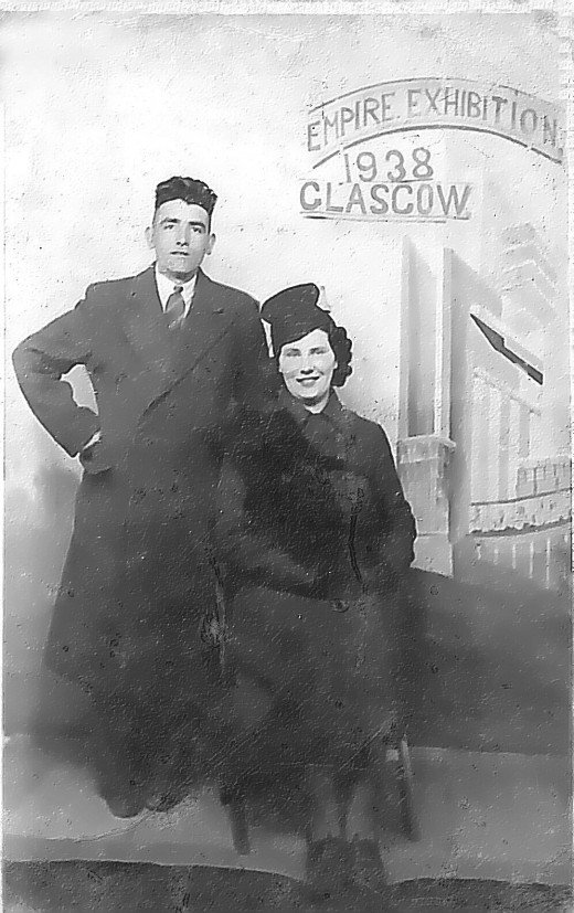 My Grandfather and Grandmother in Glasgow