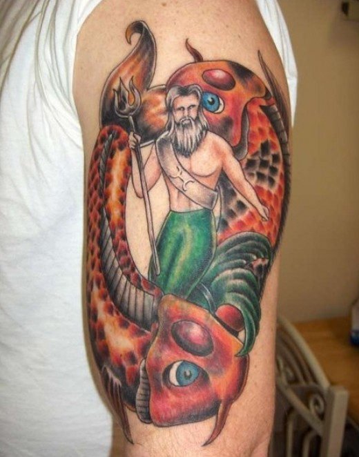 tattoo artists designs keywords neptune tattoos tagged with an ...