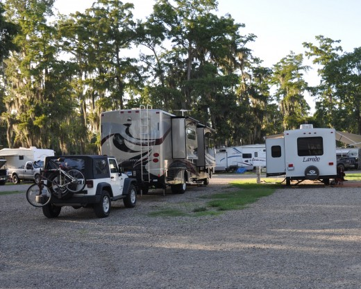 New home with Jeep attached in Southern Louisiana