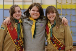 girls are welcome to join Cubs