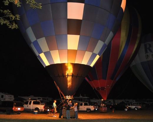 """Evening Glow"" in Vidalia, MS"