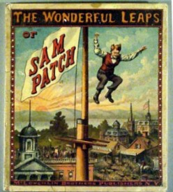 Waterfall Jumper Sam Patch: Early American Daredevil