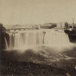 Upper Falls of the Genesee River (late 19th century)