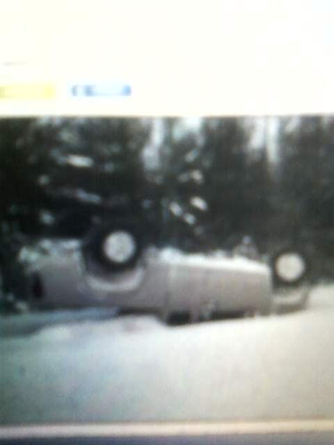 flipped my truck 2011