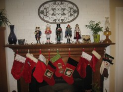 Our Stockings Hanging By The Fireplace