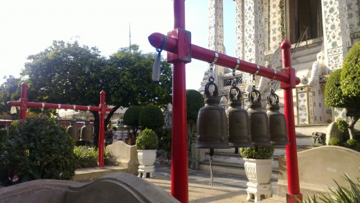 Bells At Wat Arun Temple