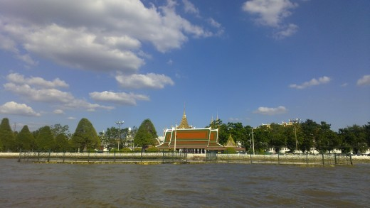 Temple from the boat