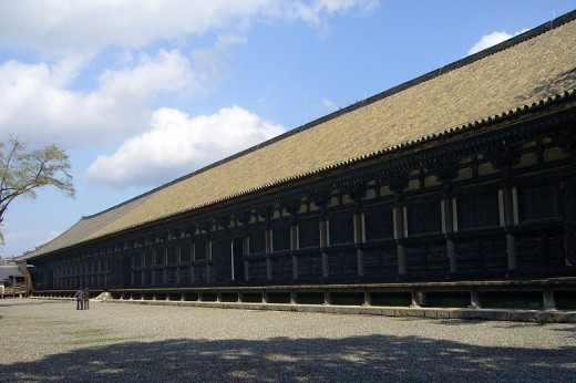 Sanjusangendo main hall.