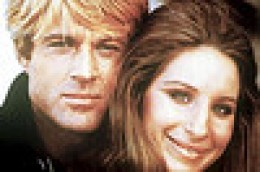 Redford & Streisand - in the end they were both 'equal' starring roles.