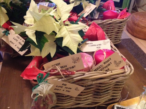 Hampers make a lovely gift