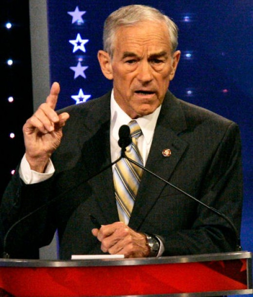 Congressman and Presidential candidate Ron Paul