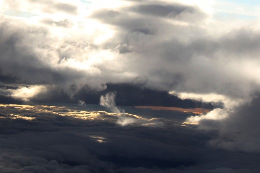 Photo I took on the plane ride with my Fiance. Titled Love and Heaven. By: Cara Rinaldi