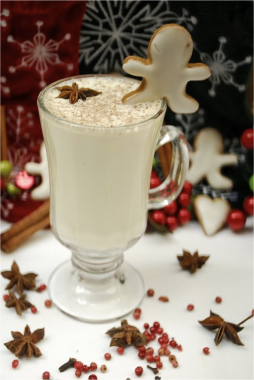 Eggnog and Gingerbread.
