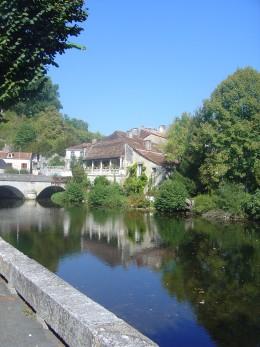 Brantome in the Dordogne is about an hour away from Les Trois Chenes