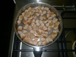 Start frying the snagballs.