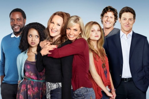The cast, including Jaime Pressly, Katie Finneran and Kevin Rahm