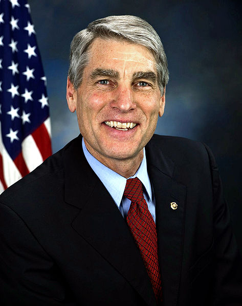 "Democratic Senator Mark Udall authored the amendment to strip the ""battlefield USA"" language from the National Defense Authorization Act.  Image courtesy Wikimedia Commons."