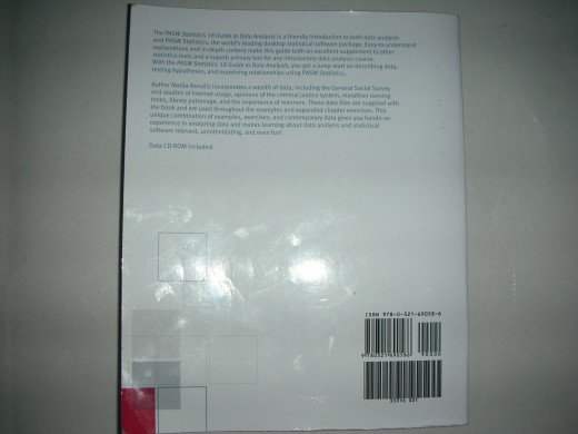 PASW Statistics 18: Back cover