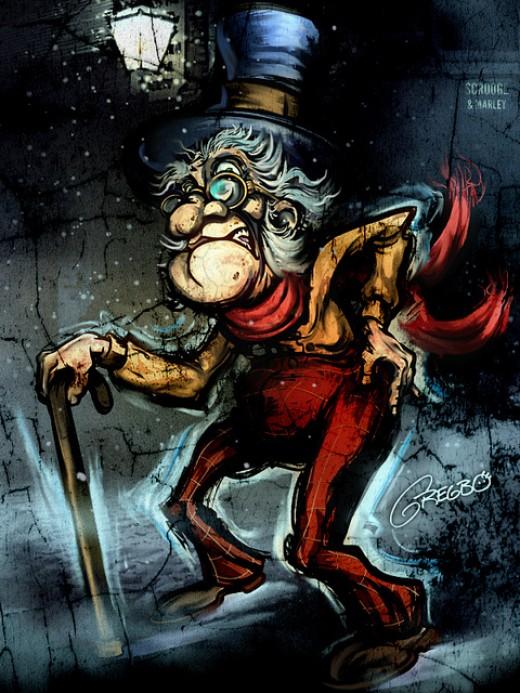 Ebeneezer Scrooge.